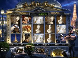 Free A Night In Paris Slot Game