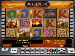 Free Attila Slot Machine