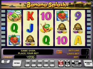 Free Banana Splash Slot Machine