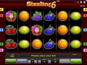 Free Slot Sizzling 6