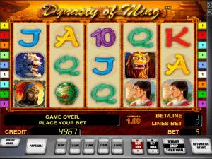 Free The Ming Dynasty Slot Machine