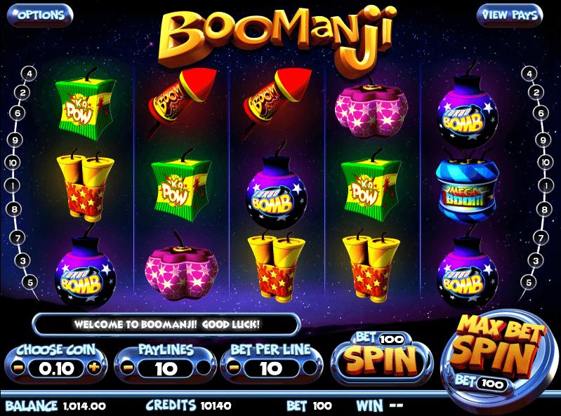 Boomanji Slots - Free Boomanji / Fireworks Slot Game