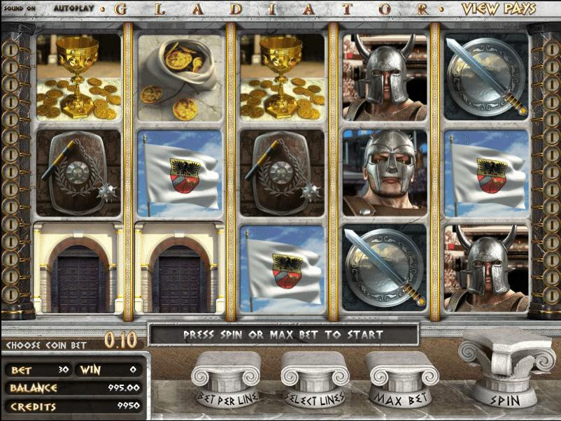 slot machine free gladiator