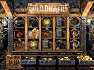 Free Gold Diggers Slot Machine