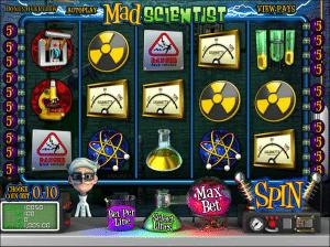 Free Mad Scientist Slot
