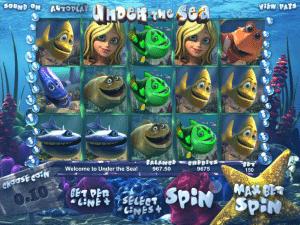 Free Under the Sea Slot Machine