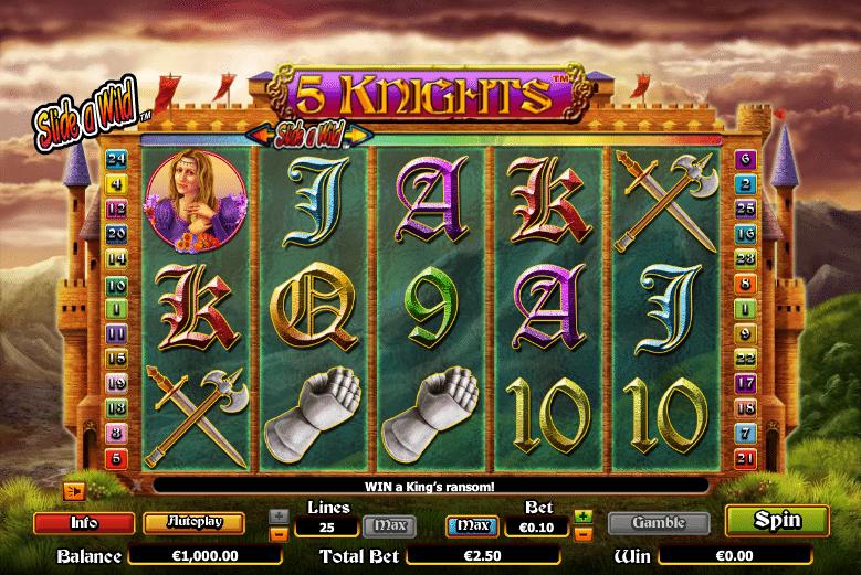 Free Online Slot 5 Knights