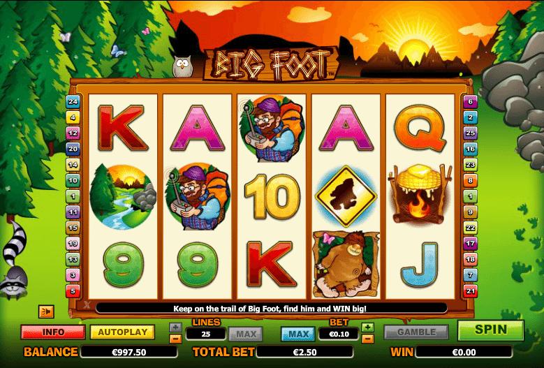 Mr. Big Foot Slot Machine - Play Free Casino Slot Games