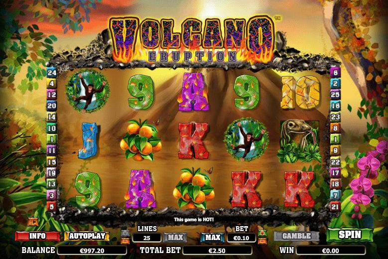 Volcano Eruption Slot Machine Online ᐈ NextGen Gaming™ Casino Slots