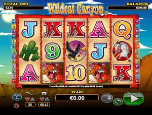 Free Wildcat Canyon Slot