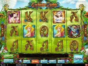Slot Machine Enchanted Crystals Online
