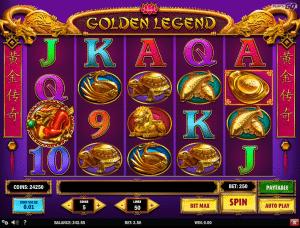 Free Slot Machine Golden Legend