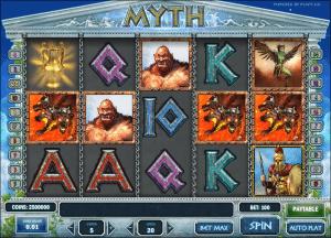 Free Myth Slot Machine Online