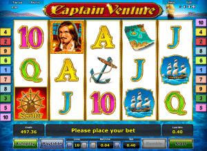 Free Captain Venture Slot Machine Online