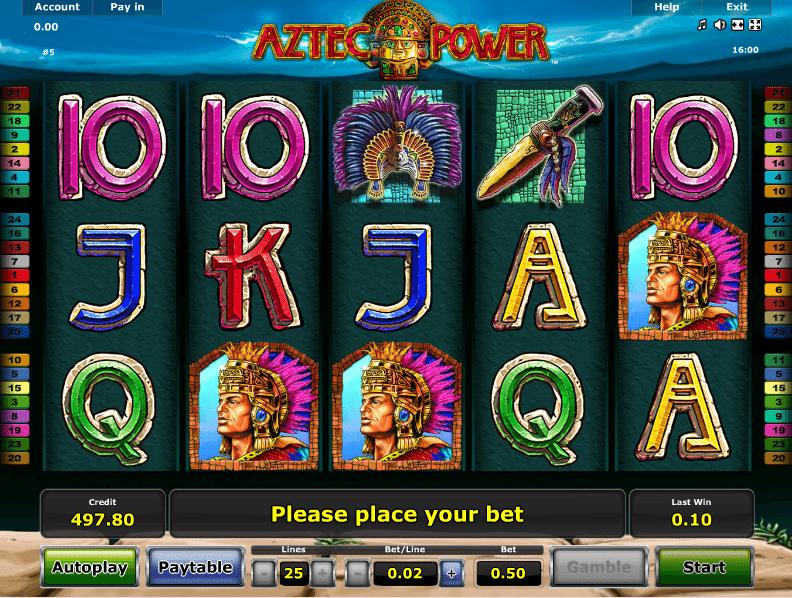 Free Slot Aztec Power Online
