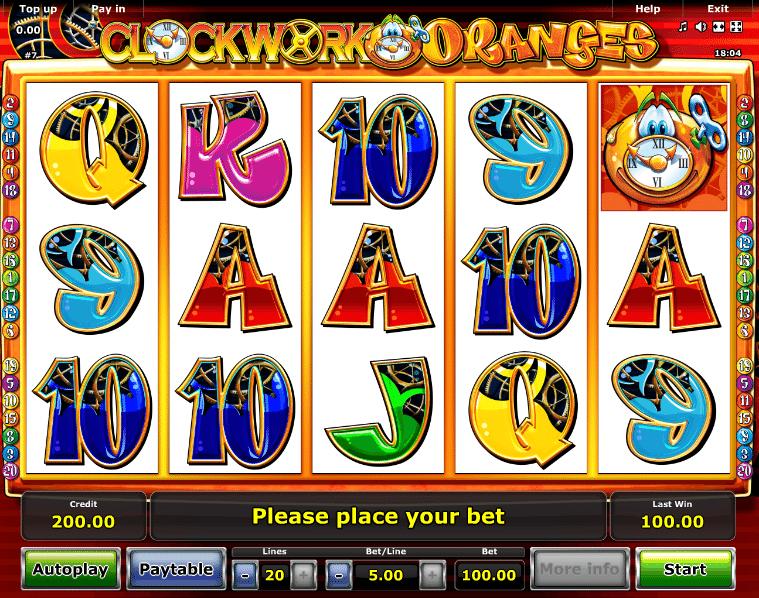 Clockwork Oranges Slot Machine - Play for Free Online