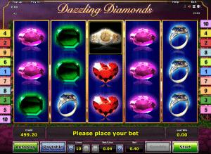 Free Online Slot Dazzling Diamonds