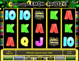 Free Slot Machine Easy Peasy Lemon Squeezy