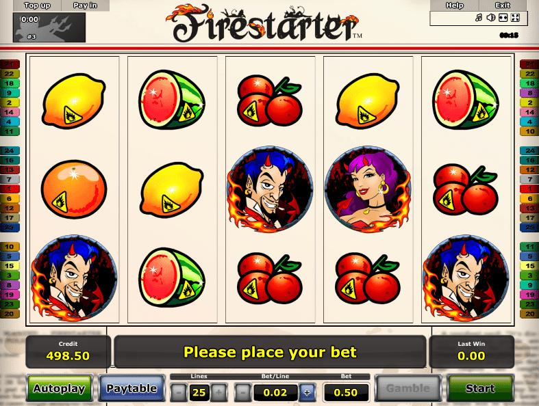 Free Online Slot Firestarter