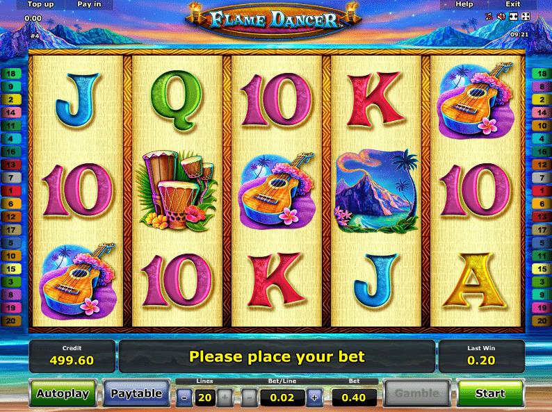 Free Slot Machine Flame Dancer