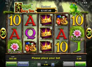 Frogs Fairy Tale Free Online Slot