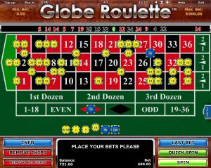 Free Globe Roulette Machine