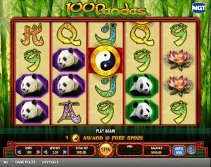 Free Online Slot 100 Pandas