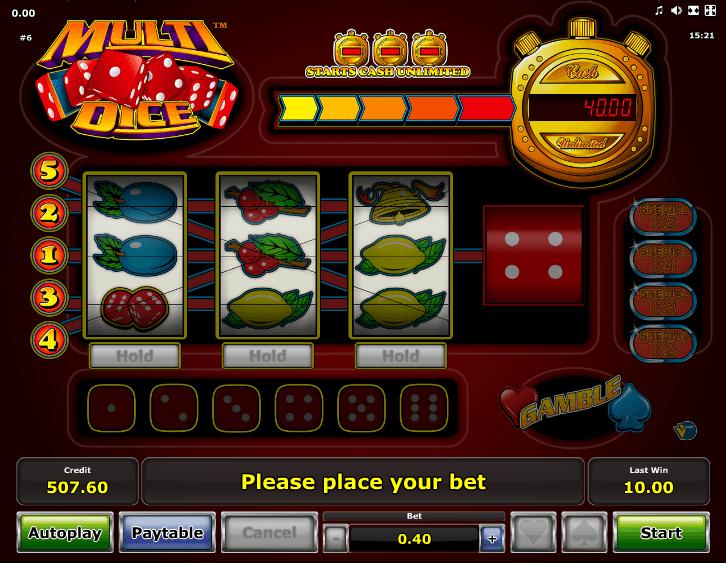 Multi Dice™ Slot Machine Game to Play Free in Novomatics Online Casinos