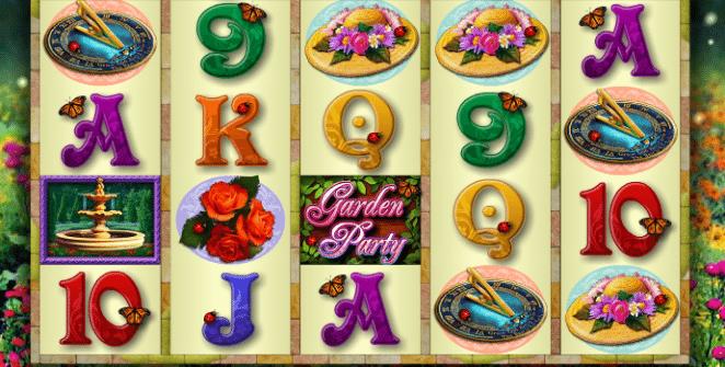 Free Slot Machine Garden Party