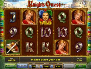 Free Slot Machine Knights Quest
