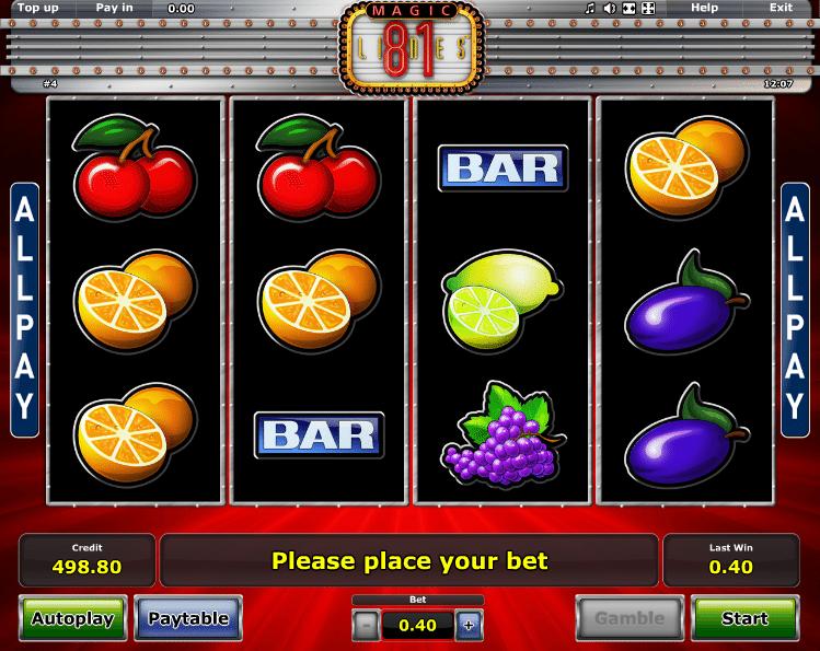 Magic 81 Free Online Slot