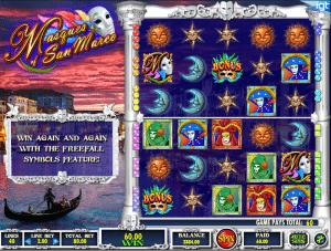 Free Masques Of San Marco Slot Machine Online