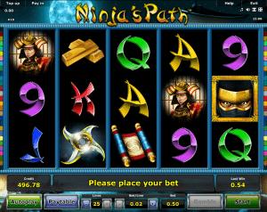 Free Slot Machine Ninja Path