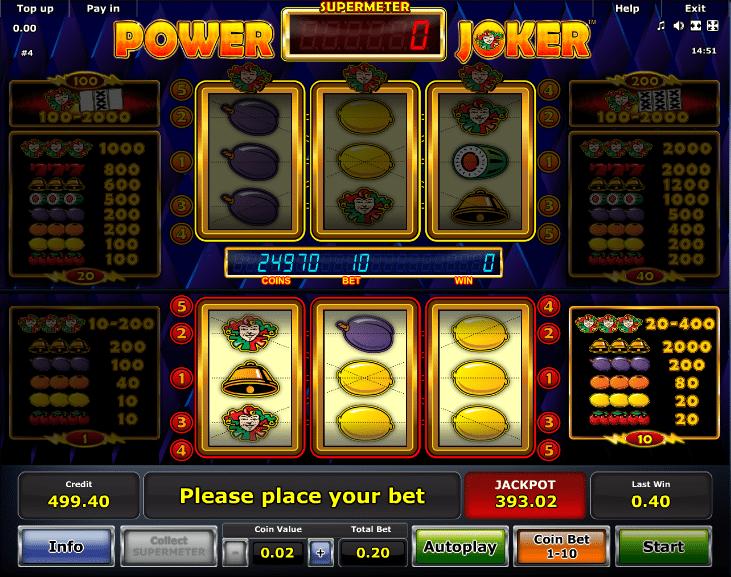 Power Joker Free Online Slot