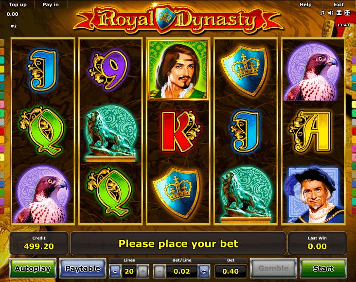 Free Slot Royal Dynasty Online