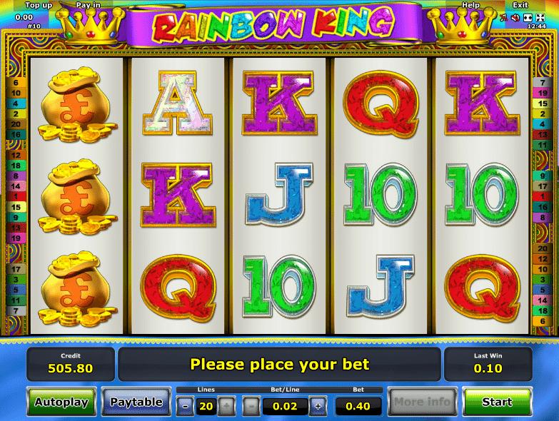Spiele Rainbow King - Video Slots Online