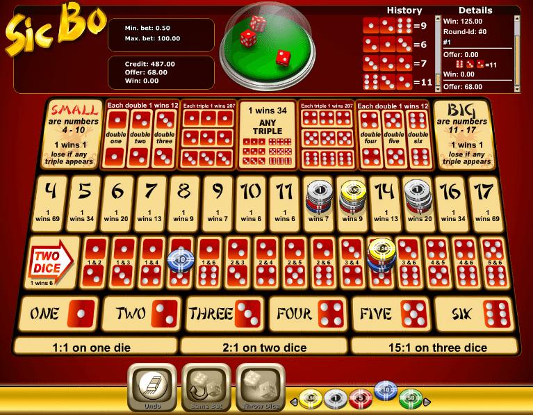 Free Online Slot Novomatic Sic Bo