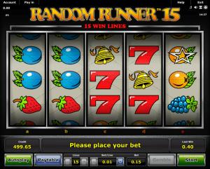Free Slot Random Runner 15 Online