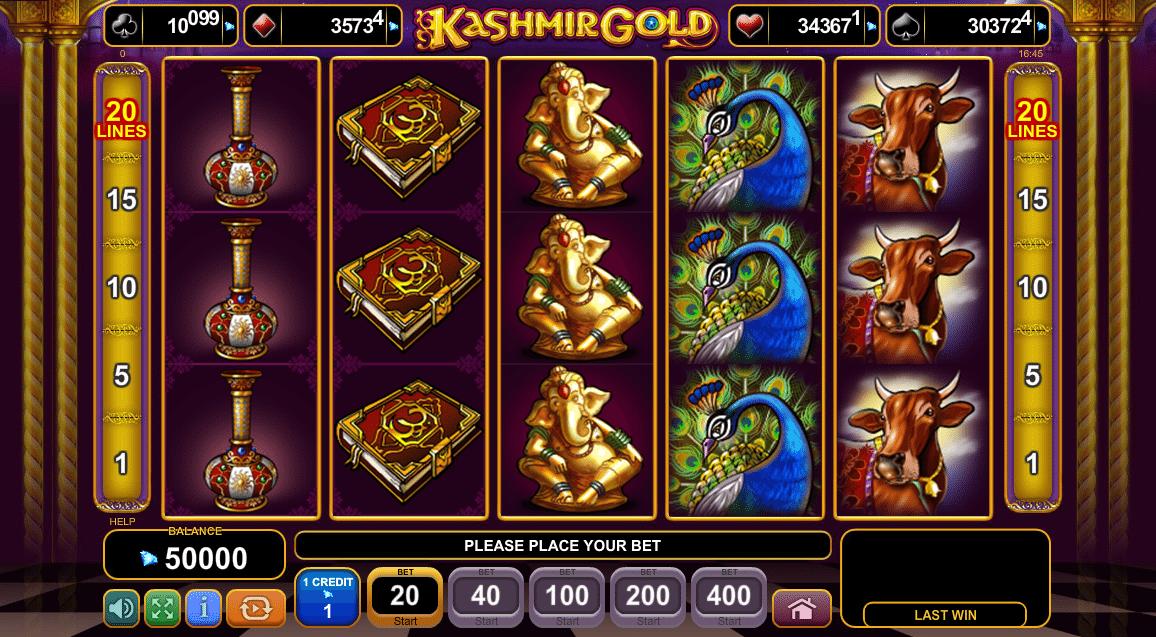 Free Slot Machine Kashmir Gold