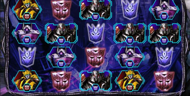 Transformers Battle For Cybertron Free Online Slot