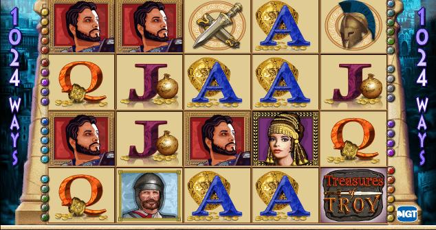 Free Slot Treasures Of Troy Online