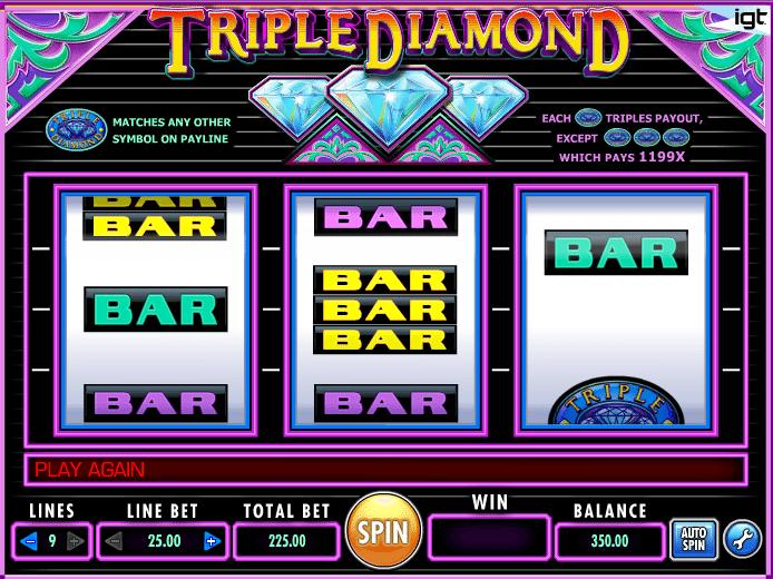 Free Online Slot Triple Diamond