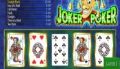 Free Online Slot Joker Poker Wazdan