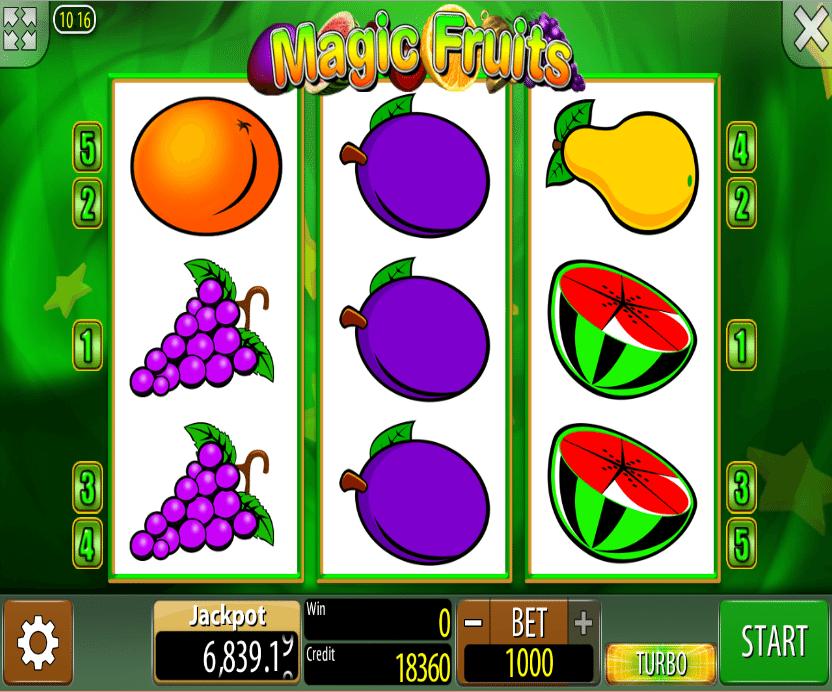 Free Online Slot Magic Fruits