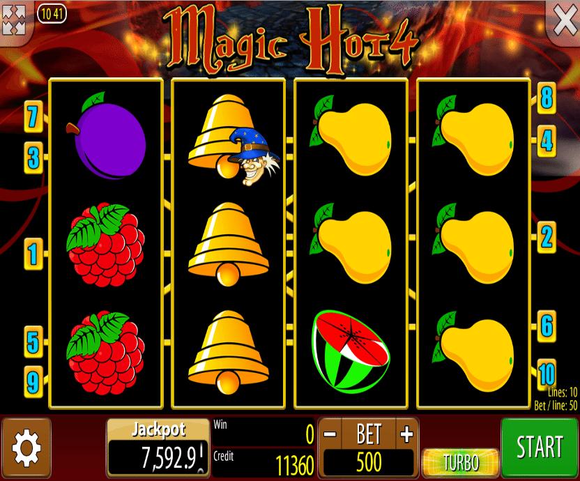Free Online Slot Magic Hot 4