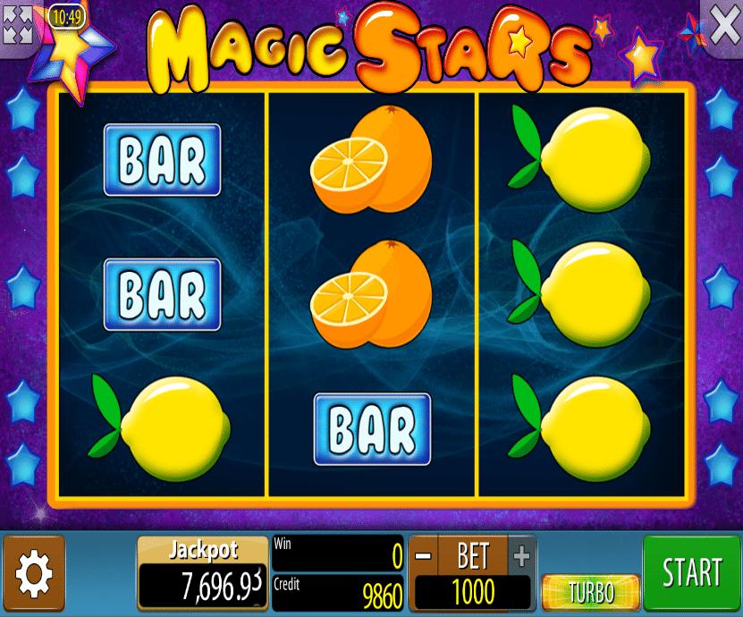 Free Magic Stars Slot Machine Online