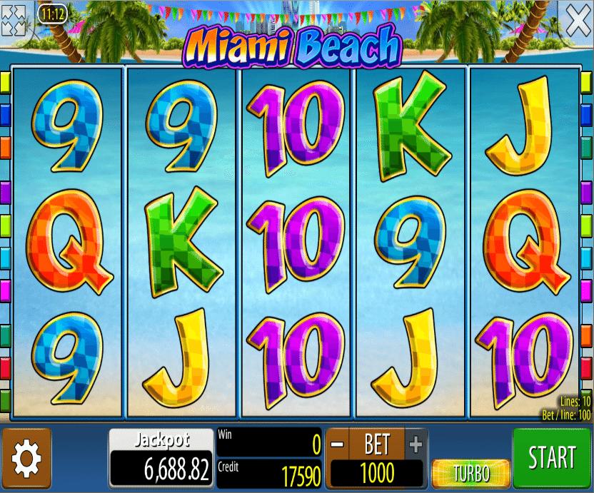 Miami Beach Free Online Slot