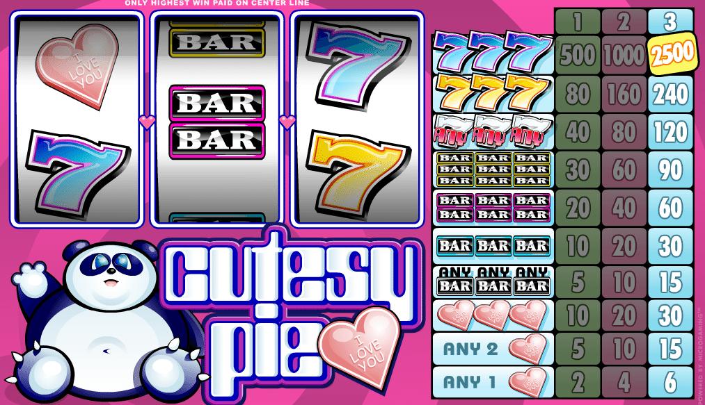 Free Online Slot Cutesy Pie