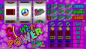 Flower Power Free Online Slot