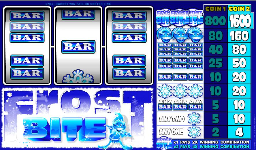 Free Slot Machine Frost Bite